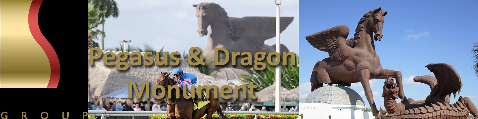 Pegasus & Dragon the Monument